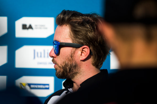 2015/2016 FIA Formula E Championship. Buenos Aires ePrix, Buenos Aires, Argentina. Saturday 6 February 2016. Oliver Rowlnd (GBR), Mahindra Racing M2ELECTRO. Photo: Zak Mauger/LAT/Formula E ref: Digital Image _L0U1851