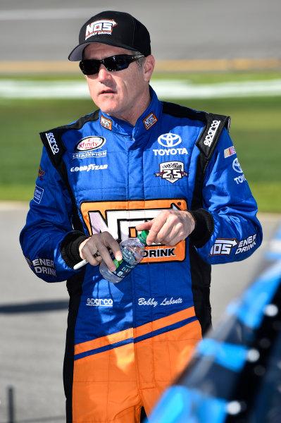19-20 February, 2016, Daytona Beach, Florida, USA Bobby Labonte, NOS Energy Drink Toyota Camry (18) ?2016, John Harrelson / LAT Photo USA