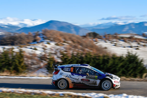 2016 FIA World Rally Championship, Round 01, Rally Monte Carlo, 21st - 24th January, 2016 Bryan Bouffier, Ford, action Worldwide Copyright: McKlein/LAT