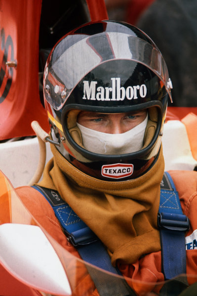 Interlagos, Sao Paulo, Brazil. 23-25 January 1976. James Hunt, McLaren M23 Ford. Ref: 76BRA12. World Copyright - LAT Photographic