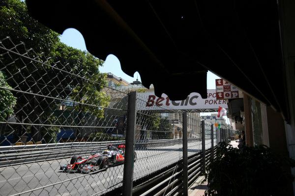 Monte Carlo, Monaco26th May 2011Lewis Hamilton, McLaren MP4-26 Mercedes. Action. World Copyright: Andy Hone/LAT Photographicref: Digital Image CSD_3509