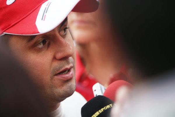 Buddh International Circuit, New Delhi, India. Saturday 26th October 2013. Felipe Massa, Ferrari. World Copyright: Andy Hone/LAT Photographic. ref: Digital Image HONZ3552