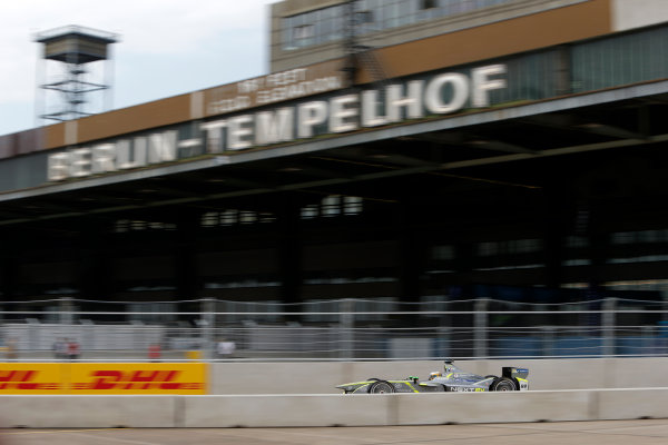 2014/2015 FIA Formula E Championship. Berlin ePrix, Berlin Tempelhof Airport, Germany. Saturday 23 May 2015 Charles Pic (FRA)/China Racing - Spark-Renault SRT_01E. Photo: Andrew Ferraro/LAT/Formula E ref: Digital Image _FER1120