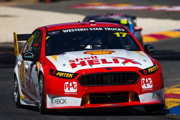 2015 V8 Supercar Championship Round 1.  Clipsal 500, Adelaide, Australia. Friday 28th February to Sunday 1st March 2015. 1Marcos Ambrose (17, DJR Team Penske).  World Copyright: Daniel Kalisz/LAT Photographic Ref: Digital Image V8SC15R1_CLIPSAL500_DKIMG06272.JPG