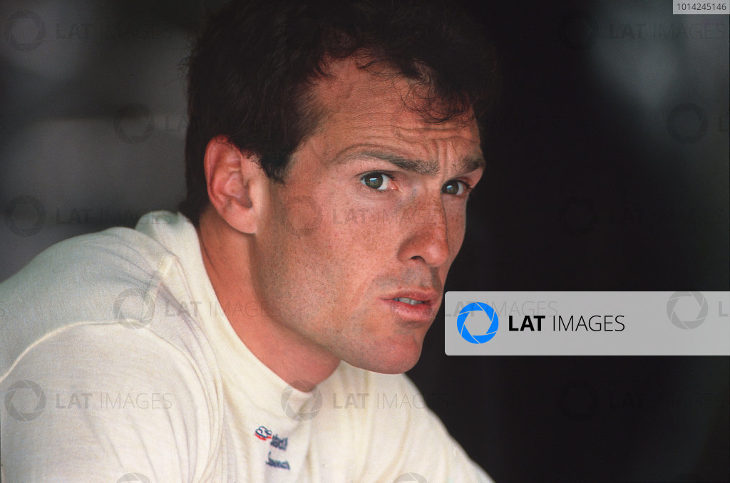 Formula 1 World Championship. Andrea de Cesaris, portrait.  World Copyright: LAT Photographic. Ref: D6A 01.