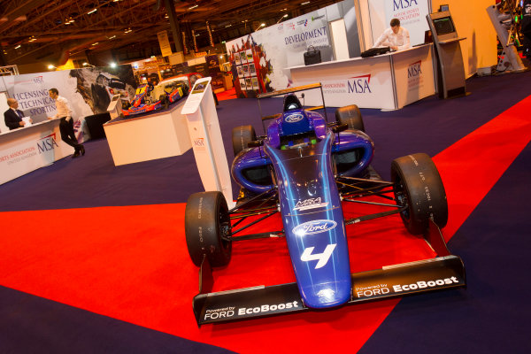 Autosport International Exhibition. National Exhibition Centre, Birmingham, UK. Thursday 8 January 2015. The MSA Stand. World Copyright: LAT Photographic. ref: Digital Image EL0G1820
