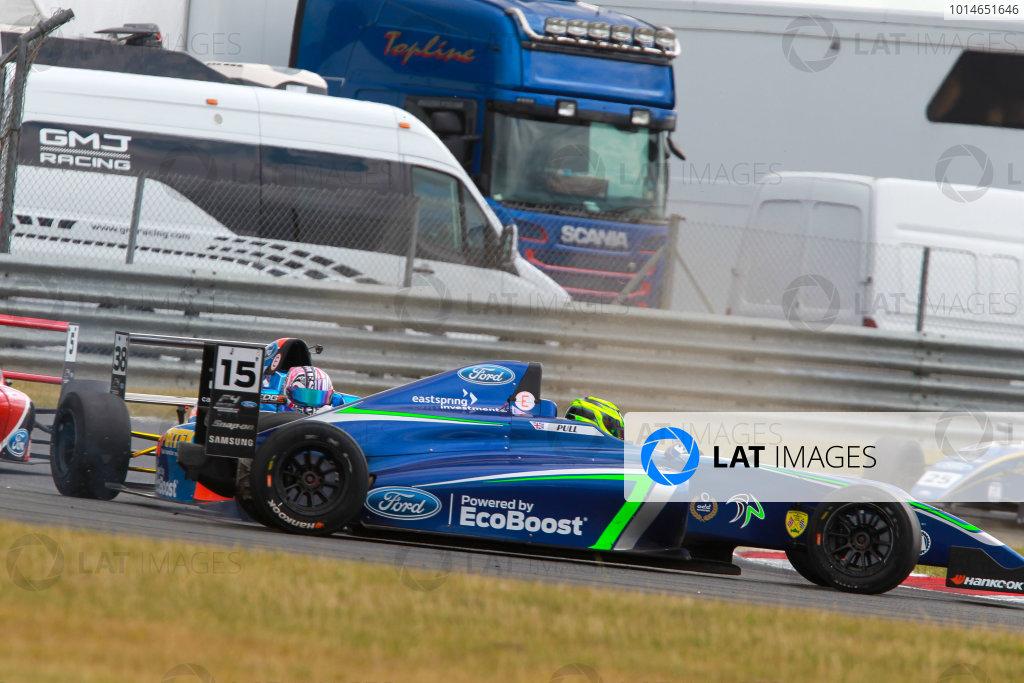 2016 British Formula 4 Championship, Snetterton, Norfolk. 29th - 31st July 2016. James Pull (GBR) Carlin Ford British F4. World Copyright: Ebrey / LAT Photographic.
