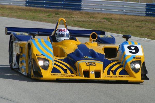 JANUARY 23-25, 2006, SEBRING INTERNATIONAL RACEWAY,  NO 9 LOLA-MG B01/60 W/ ANDY WALLACE ABORAD.     ©2006, GREG ALECK/LAT