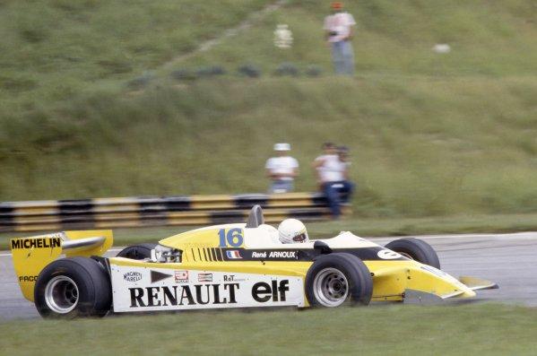 1980 Brazilian Grand Prix.Interlagos, Sao Paulo, Brazil. 25-27 January 1980.Rene Arnoux (Renault RE20), 1st position.World Copyright: LAT PhotographicRef: 35mm transparency 80BRA06