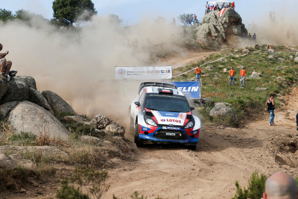 2014 World Rally Championship Rally Italy Sardinia 5th - 8th June 2014 Robert Kubica, Ford, Action Worldwide Copyright: McKlein/LAT