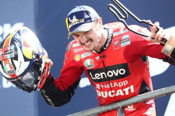 Race winner Jack Miller, Ducati Team.