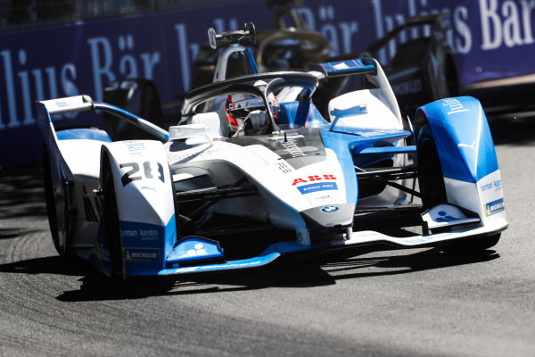 Antonio Felix da Costa (PRT), BMW I Andretti Motorsports, BMW iFE.18, leads Andre Lotterer (DEU), DS TECHEETAH, DS E-Tense FE19