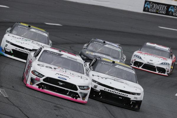 #22: Austin Cindric, Team Penske, Ford Mustang Car Shop, #16: A.J. Allmendinger, Kaulig Racing, Chevrolet Camaro Hyperice