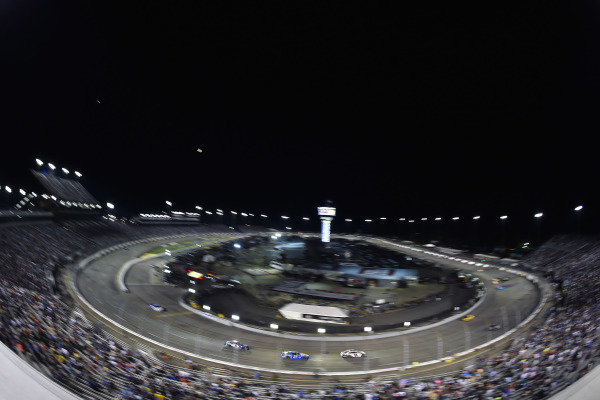 #11: Denny Hamlin, Joe Gibbs Racing, Toyota Camry FedEx Ground and #37: Ryan Preece, JTG Daugherty Racing, Chevrolet Camaro Kroger/Crest