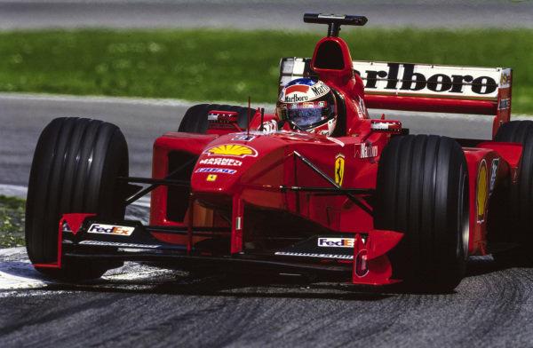 Michael Schumacher, Ferrari F399.
