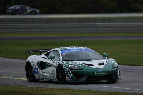 #3: Motorsports In Action McLaren 570S GT4, GS: Sheena Monk, Spencer Pigot