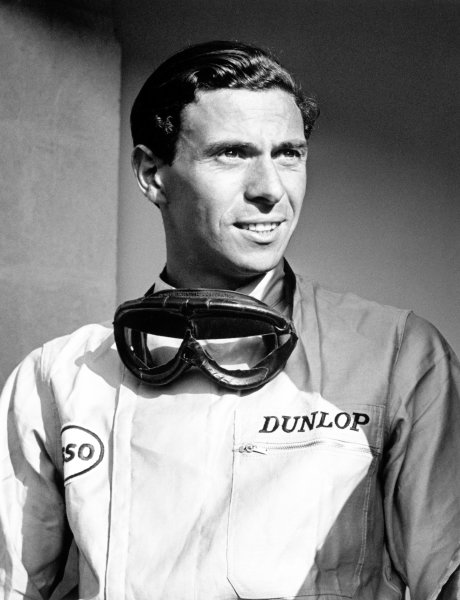 Monza, Italy. 10-12 September 1965. Rd 8. Jim Clark, Lotus 33-Climax, portrait. Ref-28649. World Copyright; LAT Photographic