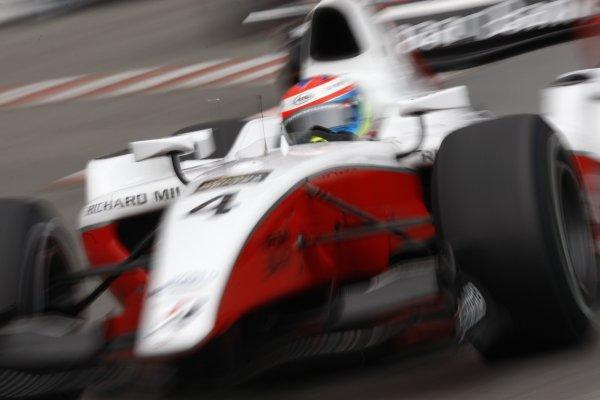 2008 GP2 Series. Round 3. Saturday Race. Monte-Carlo, Monaco. 24th May 2008.Romain Grosjean (FRA, ART Grand Prix). Action. World Copyright: Andrew Ferraro/GP2 Series Media Service.ref:__H0Y6259 jpg