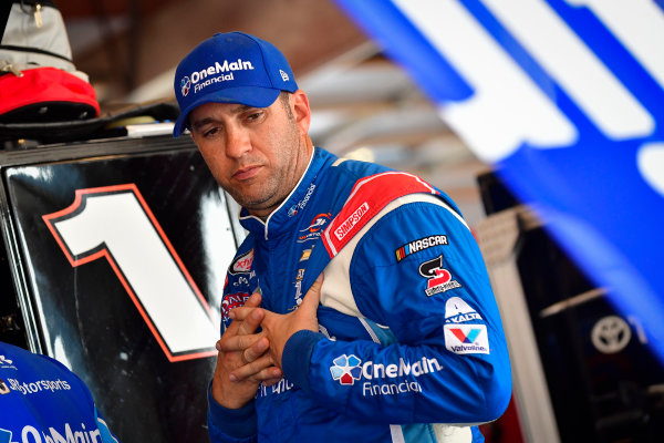 NASCAR XFINITY Series TheHouse.com 300 Chicagoland Speedway, Joliet, IL USA Friday 15 September 2017 Elliott Sadler, OneMain Financial Chevrolet Camaro World Copyright: Logan Whitton LAT Images