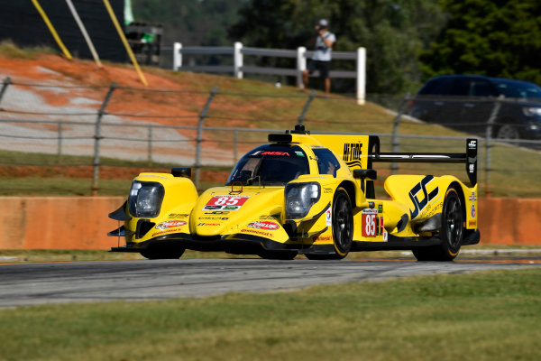 IMSA WeatherTech SportsCar Championship Motul Petit Le Mans Road Atlanta, Braselton GA Thursday 5 October 2017 85, ORECA, P, Misha Goikhberg, Chris Miller, Stephen Simpson World Copyright: Richard Dole LAT Images ref: Digital Image RDPLM031