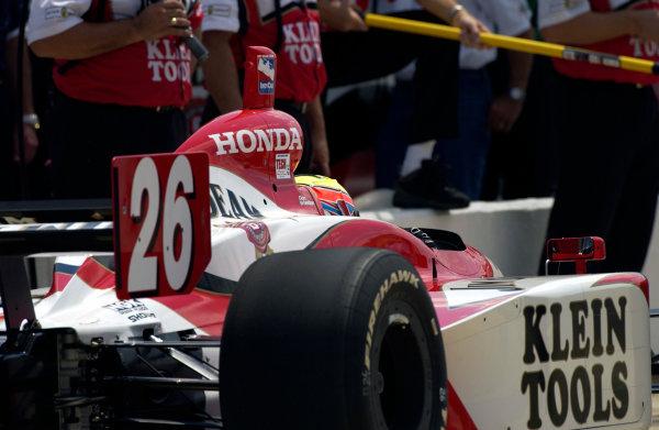 2003 IRL IndyCar Michigan International Speedway 7/25-7/27/2003, Brooklyn,Michigan USADan WheldonWorld Copyright-Walt Kuhn 2003 LAT Photographicref: Digital Image Only