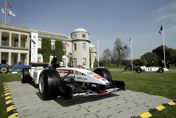 2005 Goodwood Festival of Speed Press DayGoodwood, England. 16th March 2005BAR Honda F1 on display.World Copyright: Gary Hawkins/LAT Photographicref: Digital Image Only