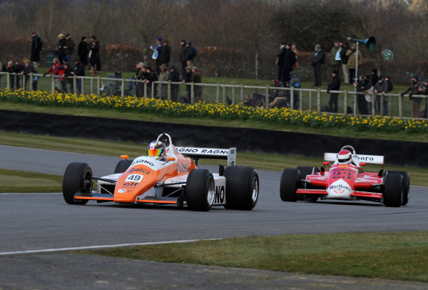 2016 74th Members Meeting Goodwood Estate, West Sussex,England 19th - 20th March 2016 Ground Effect Grand Prix Demo Neil Glover Arrows World Copyright : Jeff Bloxham/LAT Photographic Ref : Digital Image