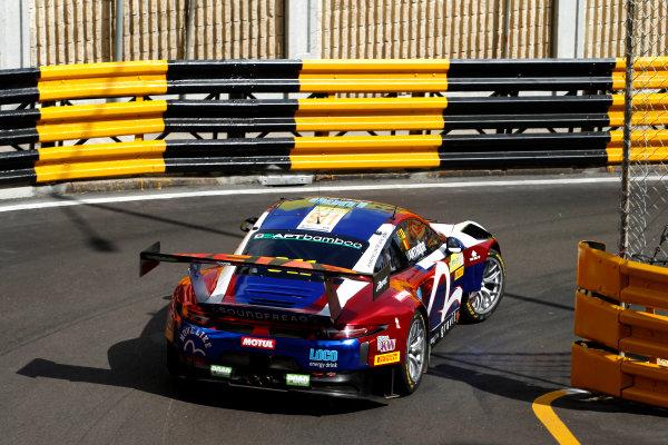 2015 FIA GT World Cup Circuit de Guia, Macau, China Friday 17 November 2017. Laurens Vanthoor, Craft Bamboo Racing, Porsche 911 GT3R  World Copyright: Alexander Trienitz/LAT Images ref: Digital Image 2017-Macau-GP-AT1-1325
