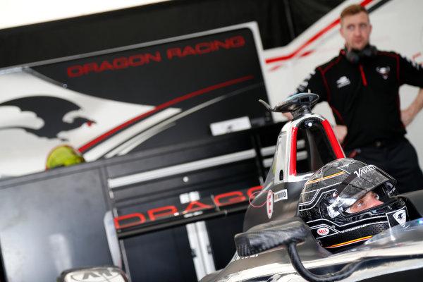 Miami e-Prix 2015. First Practice Session Jerome D'Ambrosio (BEL)/Dragon Racing - Spark-Renault SRT_01E  FIA Formula E World Championship. Miami, Florida, USA. Saturday 14 March 2015.  Copyright: Adam Warner / LAT / FE ref: Digital Image _L5R3430