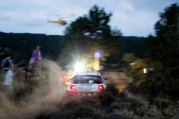 Round 12, Rally d'Italia Sardinia 201218th - 21st October 2012Mikko Hirvonen, Citroen, actionWorldwide Copyright: McKlein/LAT