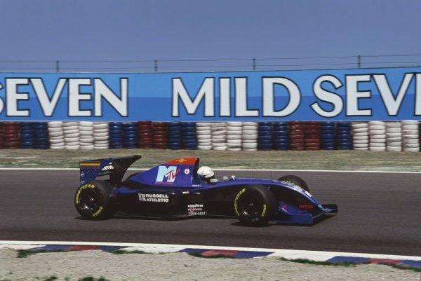 1994 Pacific Grand Prix.Aida, Japan. 15th  - 17th April 1994.David Brabham (Simtek S941 Ford), retired, action.Ref-94 PAC 37.World Copyright - LAT Photographic