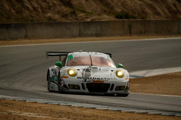 29 April - May 1, 2016, Monterey, California , 22, Porsche, 991 GT3 R, GTD, Cooper MacNeil, Leh Keen ?2016, Michael L. Levitt LAT Photo USA