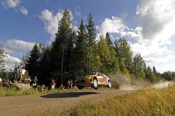 Round 08Rally Finland 29-31 July 2010 Petter Solberg, Citroen WRC, ActionWorldwide Copyright: McKlein/LAT