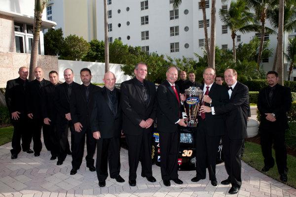 22, November, 2010, Miami, Florida, USATodd Bodine and Germain Racing Team©2010, Michael L. Levitt, USALAT Photographic