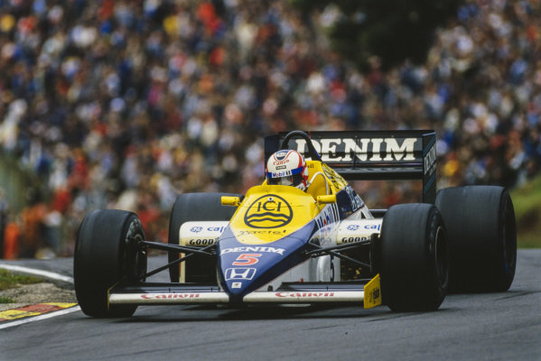Nigel Mansell, Williams FW10 Honda.