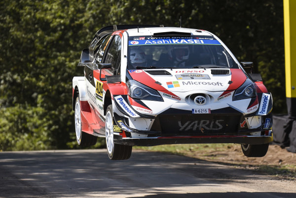 Esapekka Lappi benefitted from the demise of others on Rallye Deutschland