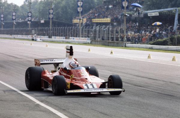 Clay Regazzoni, Ferrari 312T.