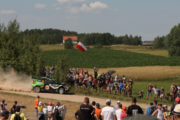 Yazeed Al Rajhi (UAE) / Michael Orr (GBR), Yazeed Racing Ford Fiesta RS WRC at FIA World Rally Championship, Rd7, Rally Poland, Preparations and Shakedown, Mikolajki, Poland, 30 June 2016.