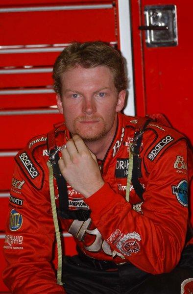 2002 NASCAR,Charlotte Motor Speedway,North Carolina, USA, UAW-GM Qualty 500, October 10-13 2002 USA-Dale Earnhardt Jr,Copyright-Robt LeSieur2002LAT Photographic