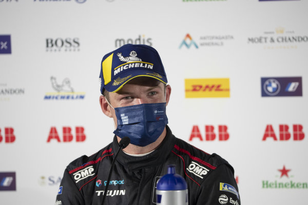 Nick Cassidy (NZL), Envision Virgin Racing, 2nd position, in the Press Conference