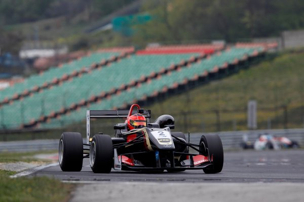 2014 European F3 Testing. Hungaroring, Budapest, Hungary. Saturday 05 April 2014. Esteban Ocon (FRA) Prema Powerteam Dallara F312 – Mercedes. World Copyright: XPB Images / LAT Photographic. ref: Digital Image 3042072_HiRes