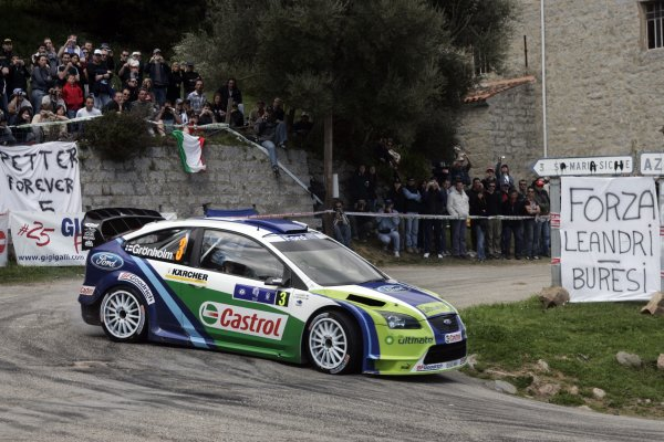 2006 FIA World Rally Champs. Round 5 Rally de France 5-8 April 2006 Marcus Gronholm, Ford, actionWorld Copyright: McKlein/LAT