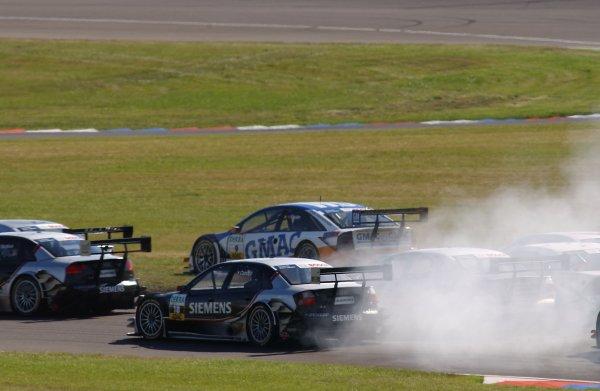 2005 DTM ChampionshipLausitz, Germany. 17th - 18th September 2005Marcel Fassler (Opel Vecrta GTS V8), runs wide.World Copyright: Andre Irlmeier / LAT Photographicref: Digital Image Only