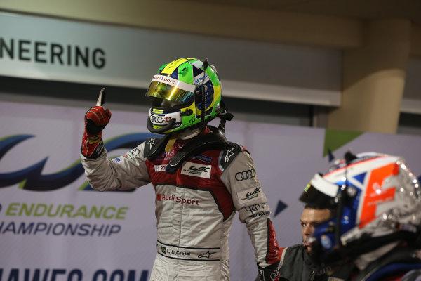 2016 FIA World Endurance Championship, Bahrain International Circuit, 17th-19th November 2016, Lucas di Grassi - Audi Sport Team Joest Audi R18 World Copyright. Jakob Ebrey/LAT Photographic