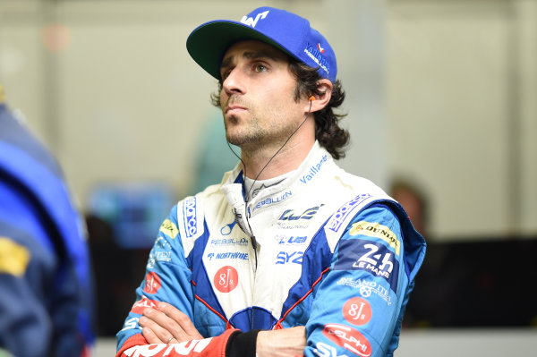 2017 Le Mans 24 Hours Circuit de la Sarthe, Le Mans, France. Wednesday 14 June 2017 Nicolas Prost, Vaillante Rebellion Racing World Copyright: Rainier Ehrhardt/LAT Images ref: Digital Image 24LM-re-6405