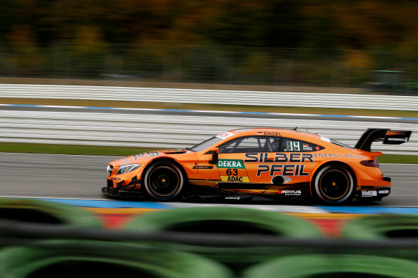 2017 DTM Round 9  Hockenheimring, Germany  Friday 13 October 2017. Maro Engel, Mercedes-AMG Team HWA, Mercedes-AMG C63 DTM  World Copyright: Alexander Trienitz/LAT Images ref: Digital Image 2017-DTM-HH2-AT2-0357