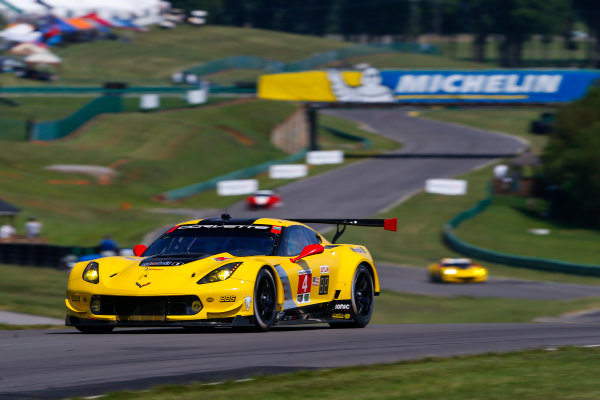 IMSA WeatherTech SportsCar Championship Michelin GT Challenge at VIR Virginia International Raceway, Alton, VA USA Friday 25 August 2017 4, Chevrolet, Corvette C7.R, GTLM, Oliver Gavin, Tommy Milner World Copyright: Jake Galstad LAT Images