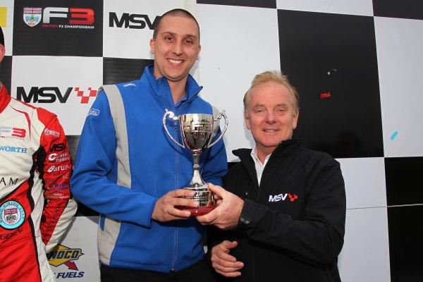 2017 BRDC British F3 Championship, Donington Park, Leicestershire. 23rd - 24th September 2017. Carlin Motorsport World Copyright: JEP/LAT Images