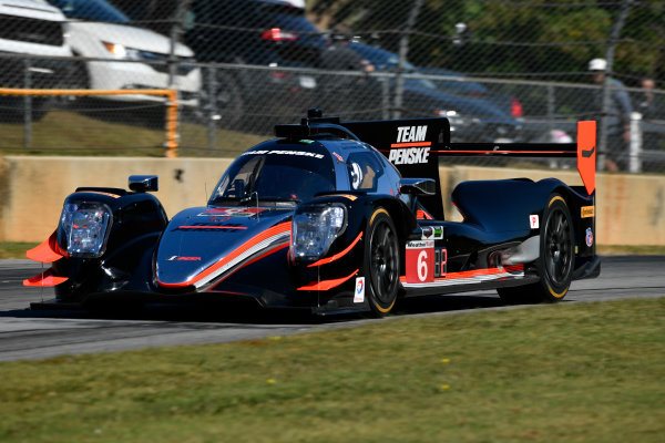 IMSA WeatherTech SportsCar Championship Motul Petit Le Mans Road Atlanta, Braselton GA Thursday 5 October 2017 6, ORECA LMP2, P, Helio Castroneves, Simon Pagenaud, Juan Pablo Montoya World Copyright: Richard Dole LAT Images ref: Digital Image RDPLM022