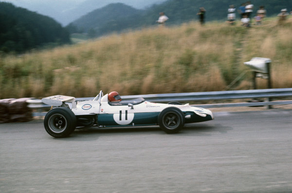 Osterreichring, Zeltweg, Austria. 14-16 August 1970.  Rolf Stommelen, Brabham BT33 Ford, 3rd position.  Ref: 70AUT03. World Copyright: LAT Photographic